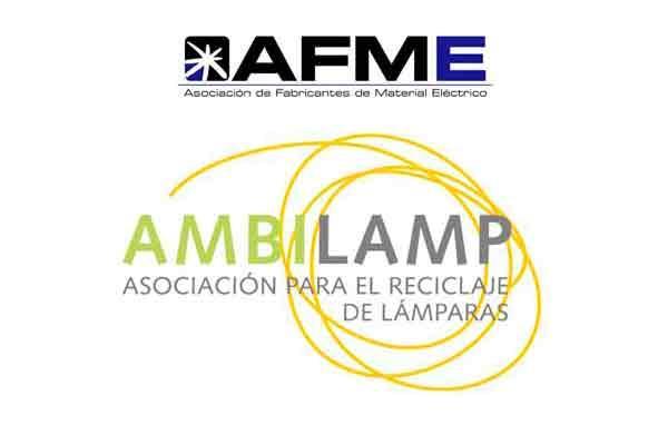 afme y ambilamp presentan al minetur su acuerdo de colaboracion para la gestion del raee