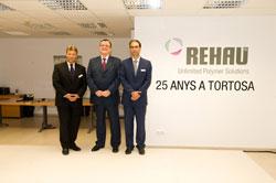 rehau celebra el 25 aniversario de su fbrica en tortosa