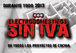 electrodomsticos sin iva durante el resto de 2013 en todos los proyectos de cocina tsk