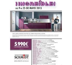 schmidt cocinas promociona sus cocinas ms innovadoras