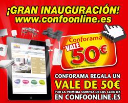 conforama lanza su tienda online