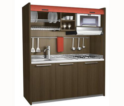 mobilspazio contract presenta sus mini cocinas - Mini Cocinas