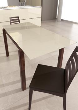 metasola lanza la nueva mesa de cocina taiga