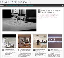 porcelanosa lanza nuevo blog y perfil corporativo en las redes sociales