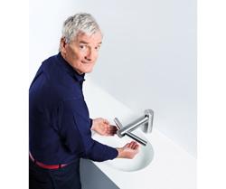 dyson airblade tap el secador de manos que lava y seca las manos