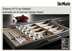 siematic obtiene una mencin especial en el german design award