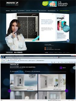 nuevo configurador virtual de profiltek para el diseo de mamparas
