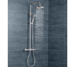 nueva columna de ducha con termostato integrado de jacob delafon