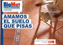 bigmat lanza la quincena de pavimentos y revestimentos