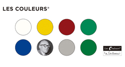 Los radiadores Runtal en los colores de Le Corbusier