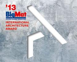 bigmat convoca la primera edicin de los premios internacionales arquitectura bigmat 2013