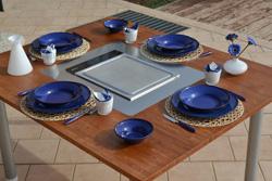 nueva mesa kucina y mangia de casa brandoni