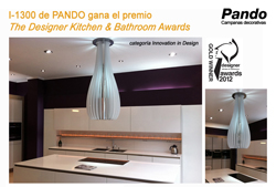 "Pando gana el premio ""The Designer Kitchen & Bathroom Awards"""