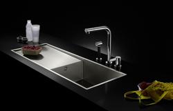 dos nuevas variantes de fregaderos water units de dornbracht
