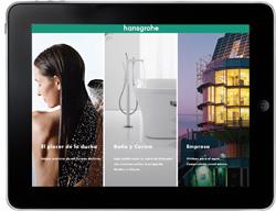 hansgrohe desarrolla una aplicacin para ipad  con su catlogo