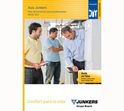 junkers promociona su plan de formacin presencial y online 2013