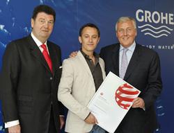 el equipo de diseo de grohe gana el red dot design award