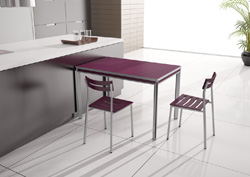 metasola presenta la nueva mesa itaca