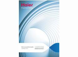 haier lanza su nuevo catlogo de aire acondicionado 2012