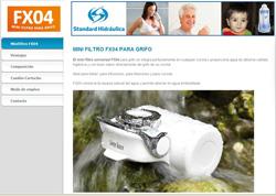 standard hidrulica estrena espacio web para su mini filtro fx04