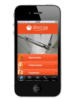 mamparas doccia lanza una aplicacin para iphone