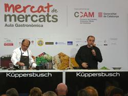 kppersbusch presente en la  2 edicin de mercat de mercats