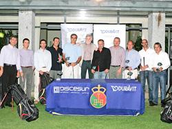 celebrado el x torneo de golf discesurduravit