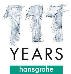hansgrohe cumple 111 aos y sigue creciendo