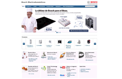 bosch renueva su web de electrodomsticos