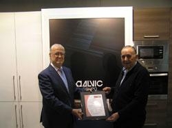 grupo alvic fr mobiliario slu recibe el certificado iso14001sistemas de gestin ambiental