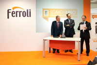 ferroli presenta sus objetivos para 2010 en su convencin nacional de ventas
