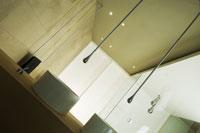 gessi ampla la coleccin goccia con un rociador de techo