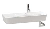 gala presenta dos lavabos asimtricos