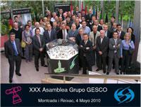 grupo gesco celebra su 30 asamblea general en las instalaciones de standard hidrulica