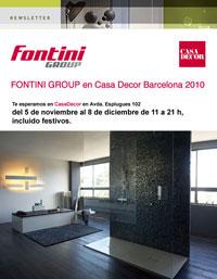 fontini presenta nuevos proyectos en casa decor 2010