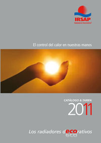 irsap presenta su nueva tarifa de productos para 2011