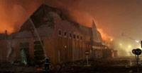 un incendio destruye un leroy merln en madrid