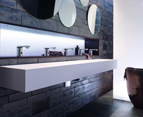 un bao siempre fresco con los sifones de lavabo geberit
