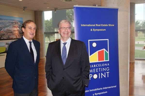 barcelona meeting point exhibe el dinamismo del sector inmobiliario