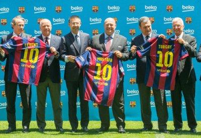 beko y el fc barcelona firman un acuerdo global de patrocinio