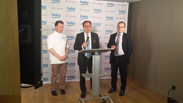 beko presenta sus nuevos frigorificos en barcelona