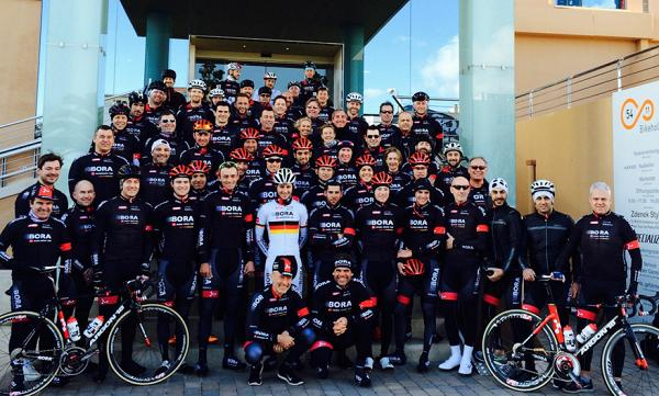 bora celebra un training camp en mallorca