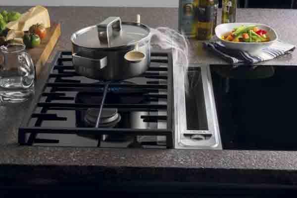 Bora professional elimina los humos los olores y los for Ruido extractor cocina