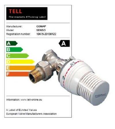 el cabezal termosttico senso de comap logra una a en eficiencia energtica
