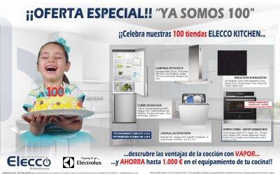 cadena elecco y electrolux lanzan la promocin ya somos 100