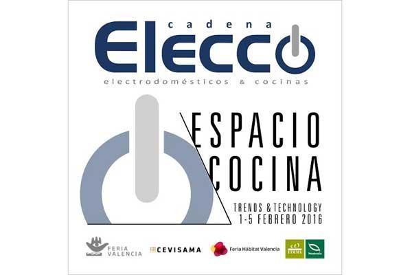 cadena elecco participa como expositor en espacio cocina
