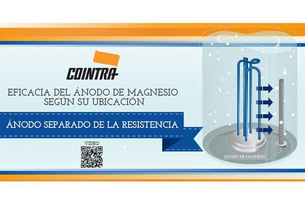 cointra muestra en vdeo la importancia de la ubicacin del nodo de magnesio en los termos