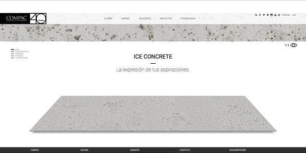 compac presenta su nueva web