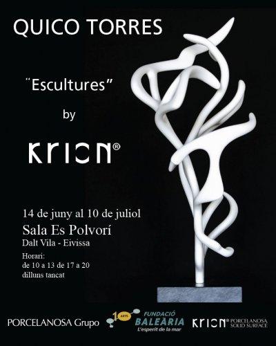 concluye la primera exposicin realizada ntegramente con krion por quico torres