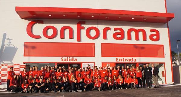 conforama abre su quinta tienda en la comunidad valenciana